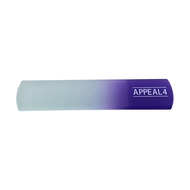 Appeal4 Fodfil i glas - fås i flere farver